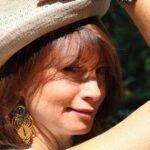Boucle d'oreille ethnique jaune MIA Provence
