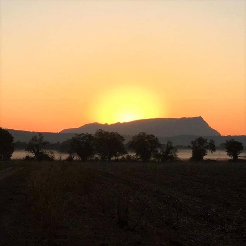 Montagne Sainte Victoire près d'Aix-en-Provence
