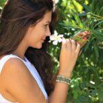 Bracelet ethnique femme kaki et beige fait main en Provence - MIA Provence