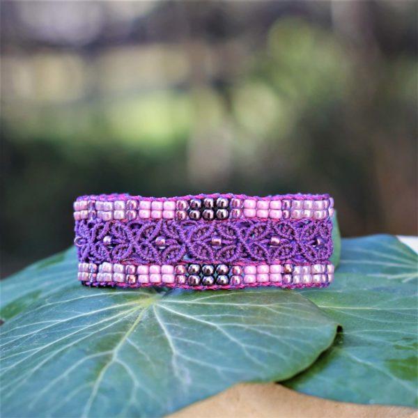 Bracelet L'Avignonnais violet