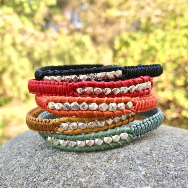 Bracelets-sormiou en différentes couleurs