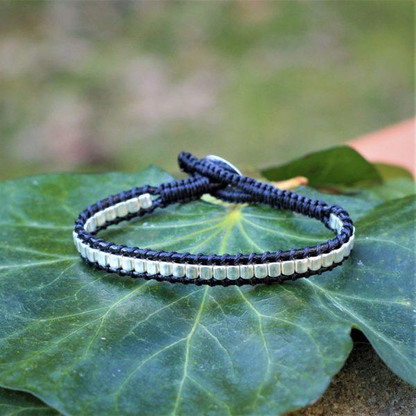 Bracelet Endoume noir pour femme