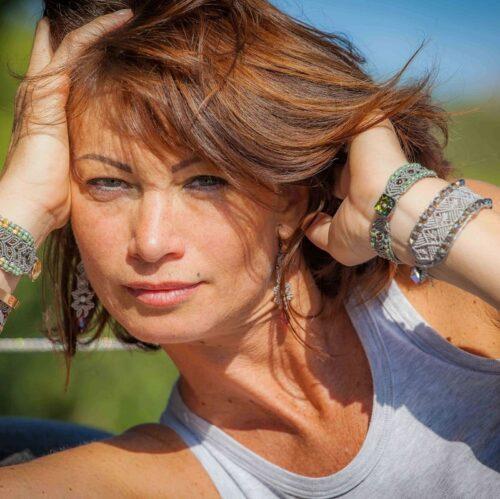 Bracelet artisanal femme style bohème Le Toulonnais