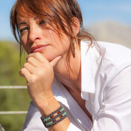 bracelet femme manchette hippie chic mia provence