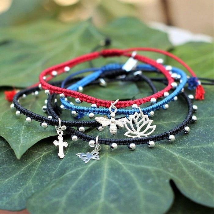 bracelet cordon femme - bijoux sur mesure MIA PROVENCE
