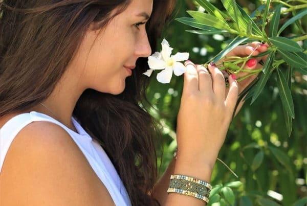 Faire faire son bijou sur mesure - bracelet kaki - MIA PROVENCE