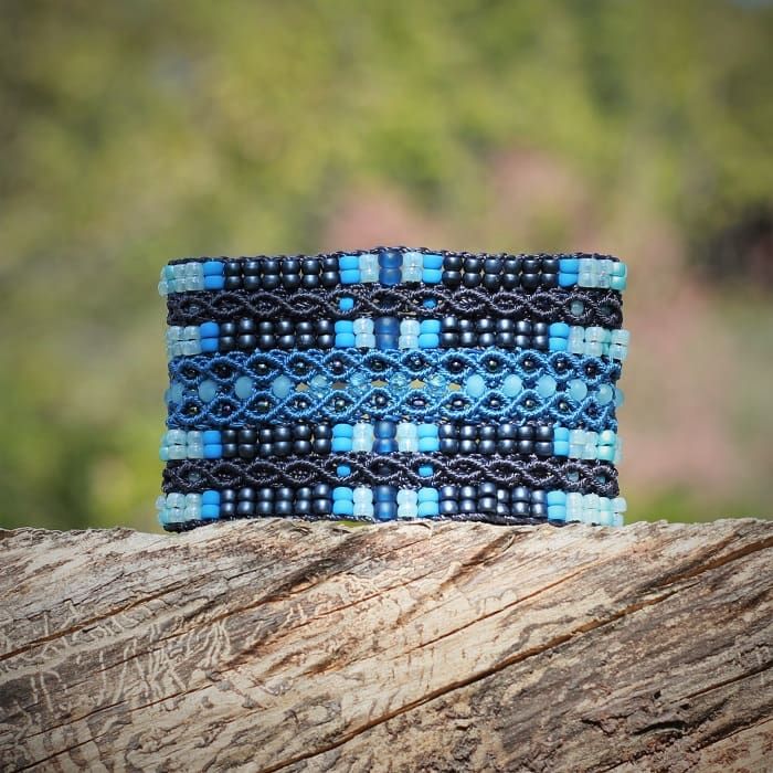 guide de taille bracelet - bracelet fantaisie luxe bleu mia provence