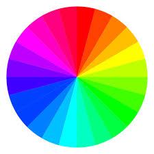 Roue chromatique des couleurs