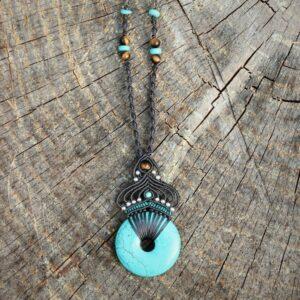 Bijoux ethnique chic turquoise