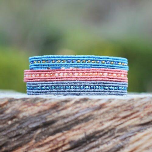 Bracelet jonc coloré jonc LIA - MIA Provence