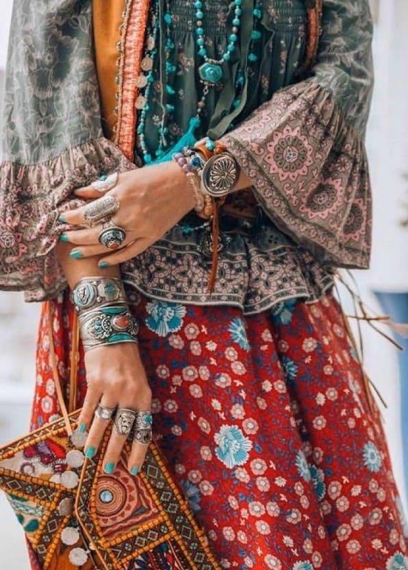 Mode femme bohème hippie chic - MIA Provence