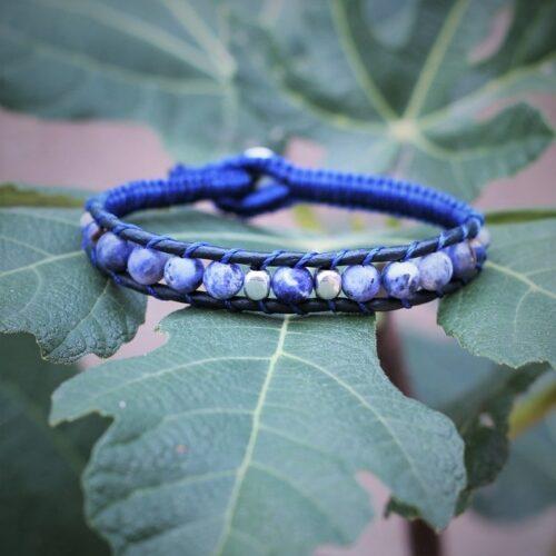 bracelet homme bleu - Propriétés des pierres - MIA Provence
